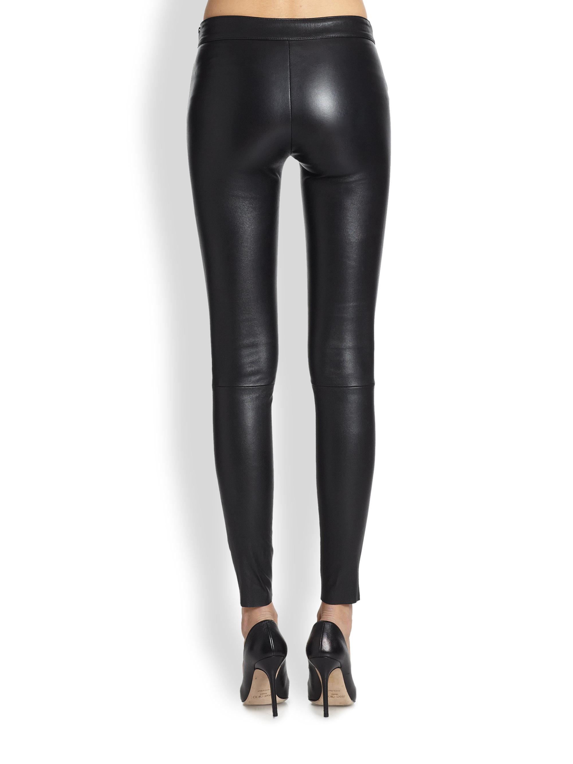 Mackage Leather Leggings