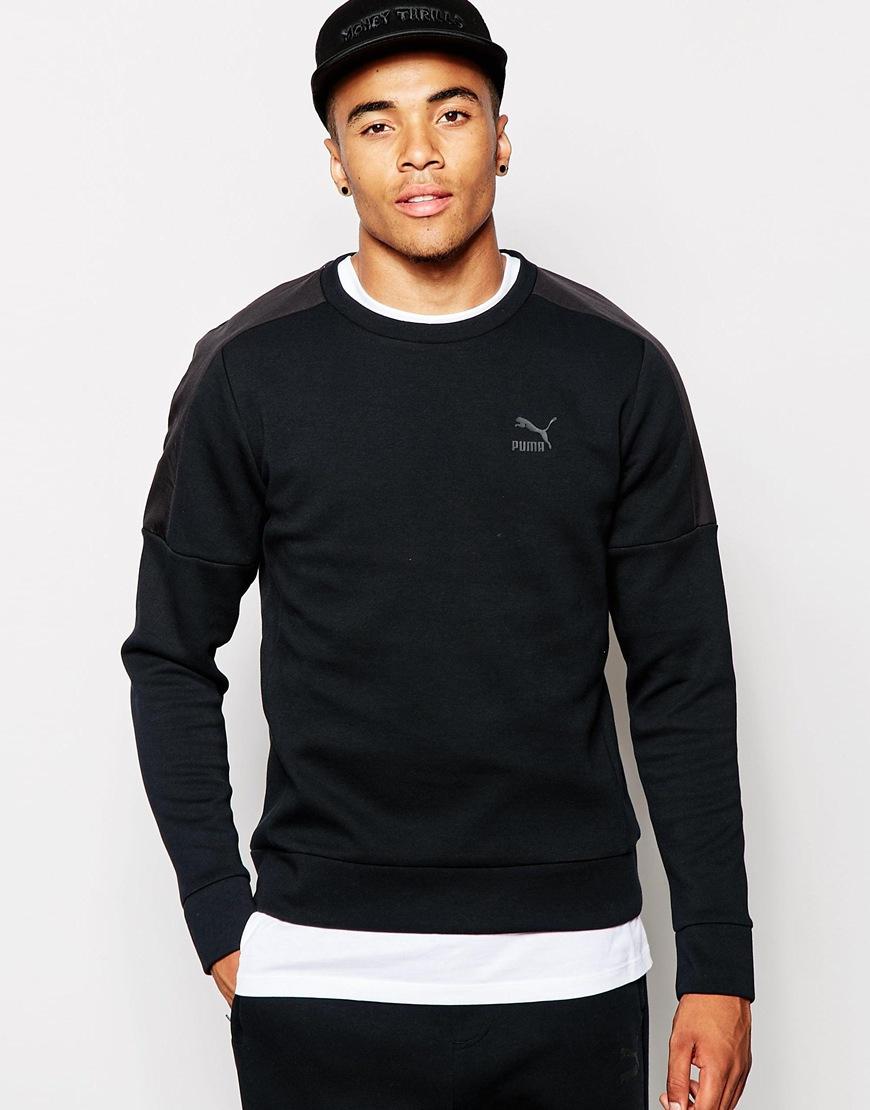 26ec6e42de4e Lyst - PUMA Evolution Sweatshirt in Black for Men