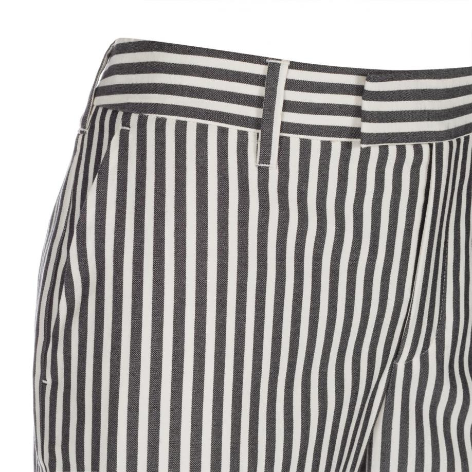 Lyst - Paul Smith Ženski Dark Navy In Bela Striped-5184