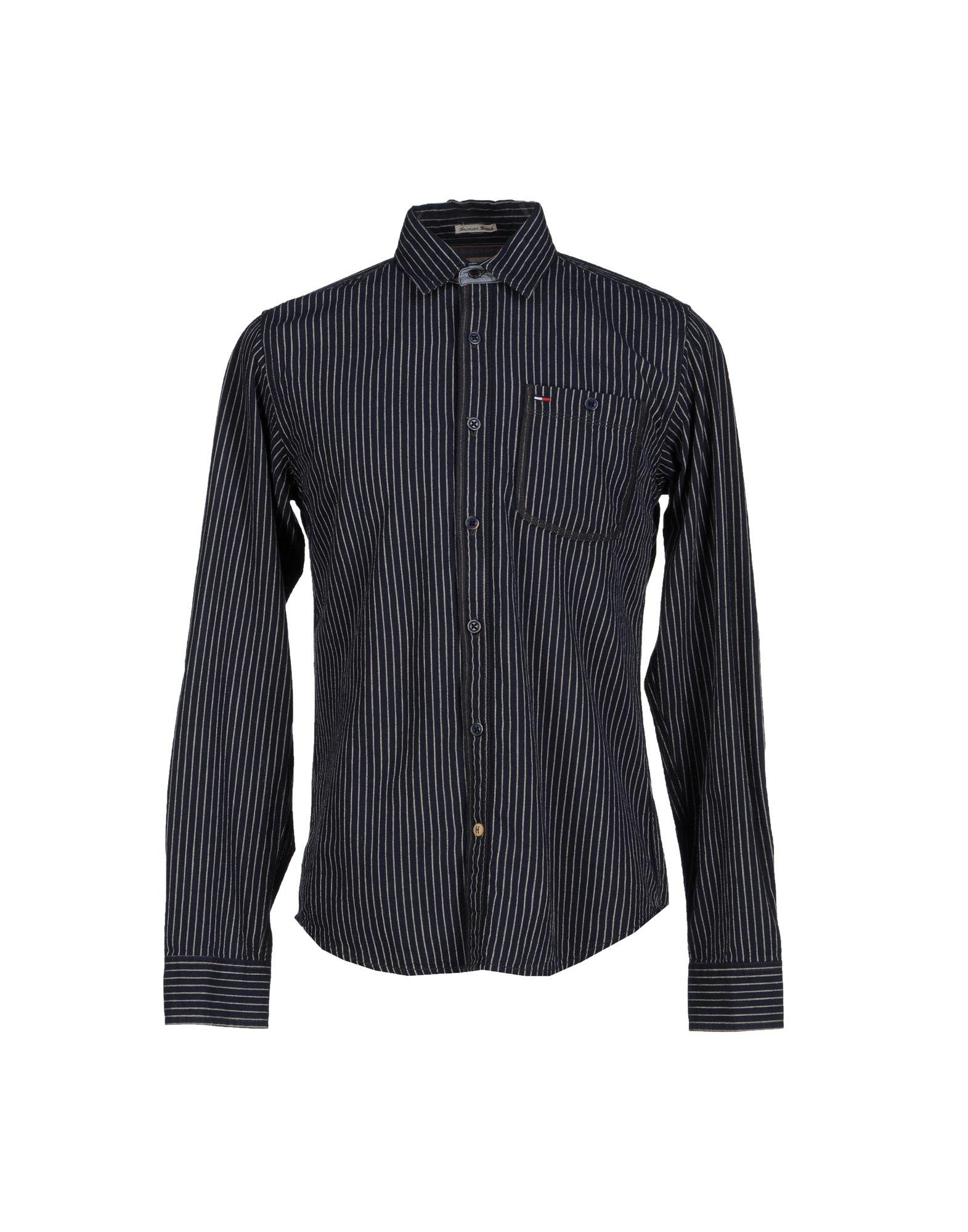 tommy hilfiger denim shirt in blue for men dark blue lyst. Black Bedroom Furniture Sets. Home Design Ideas
