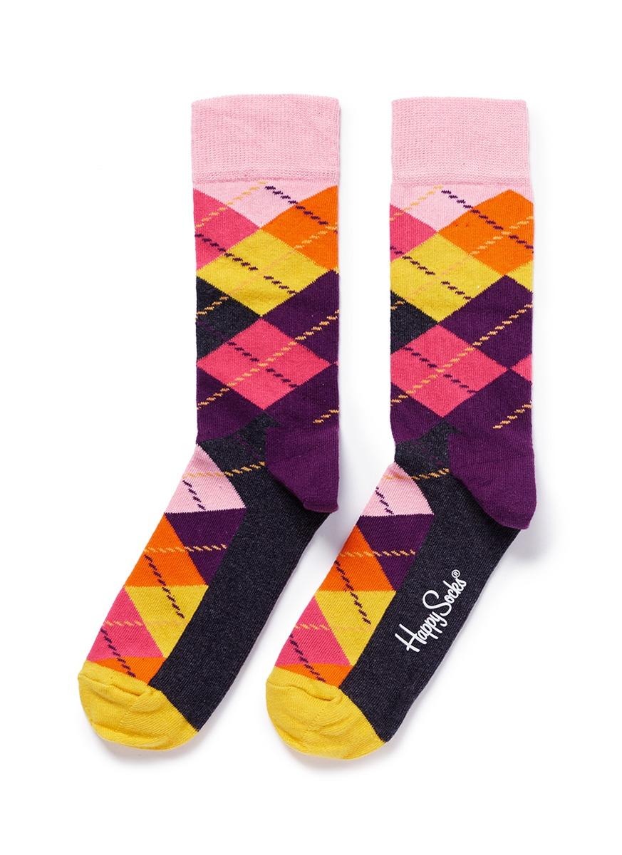 Lyst - Happy Socks Argyle Socks 5d2d642b70b