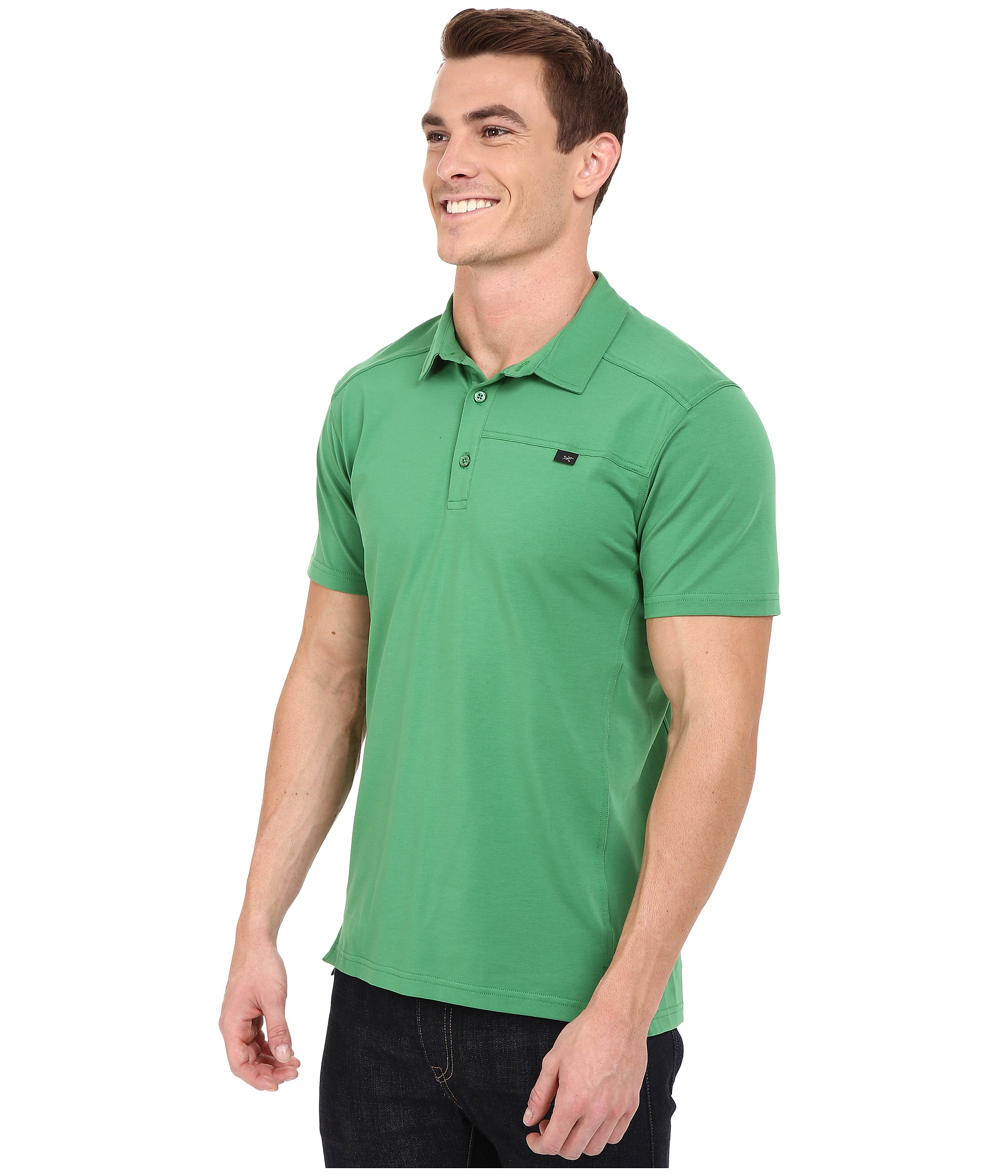 Lyst Arcteryx Captive Polo Ss In Green For Men