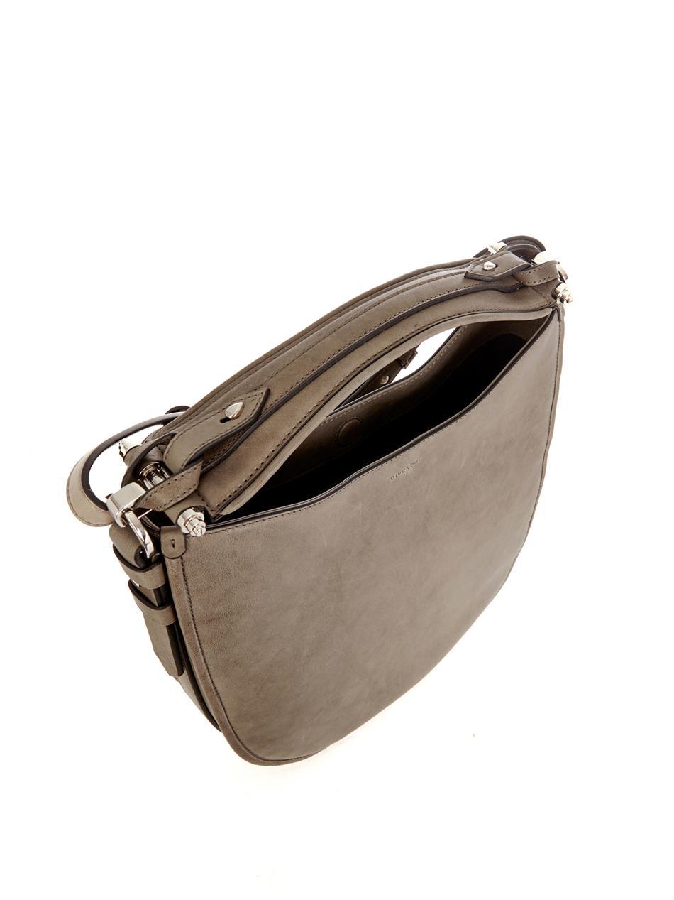 Lyst - Givenchy Zanzi Obsedia Hobo Bag in Gray 39ff9f759c