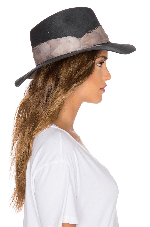 31ce8105ed509 Eugenia Kim Georgina Hat in Gray - Lyst
