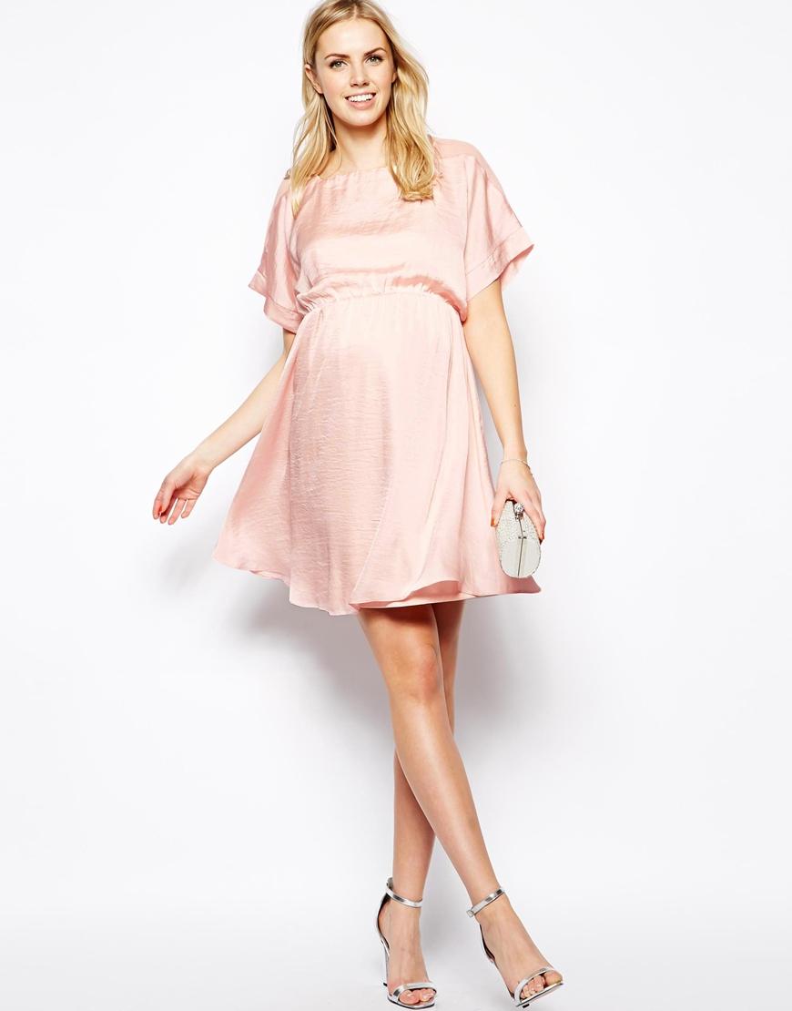 Pink chiffon maternity dress fashion dresses pink chiffon maternity dress ombrellifo Choice Image