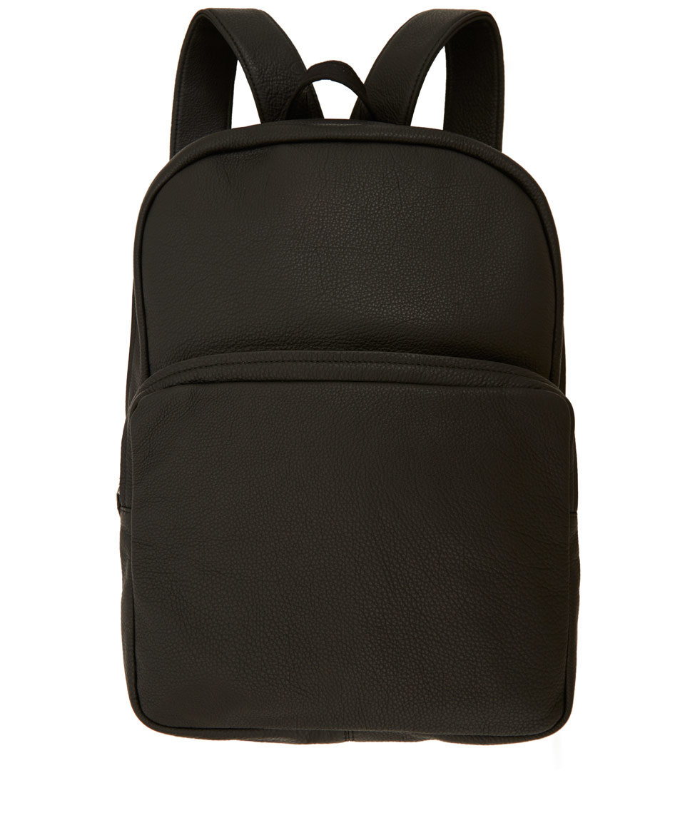 Marc by marc jacobs Black Classic Leather Backpack in Black for ...