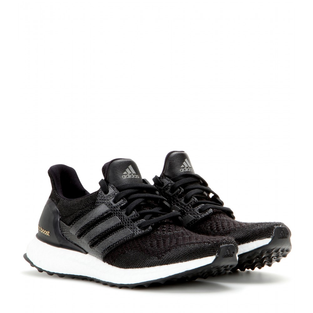 lyst adidas ultra boost sneakers in black. Black Bedroom Furniture Sets. Home Design Ideas