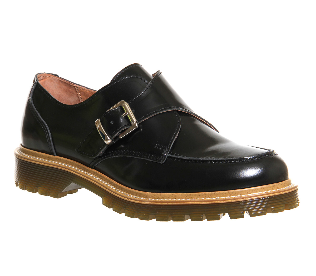 Brilliant  Fainthearted Double Monk Strap Shoes For Women  StyleCatcher