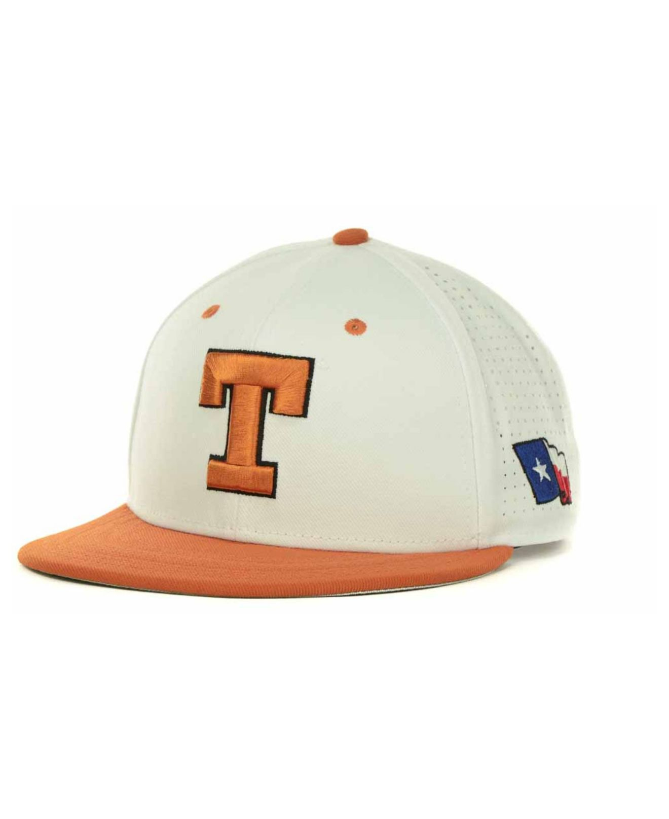 5346f7db55975 ... new arrivals lyst nike texas longhorns ncaa authentic vapor fitted cap  in white cbd32 65b61