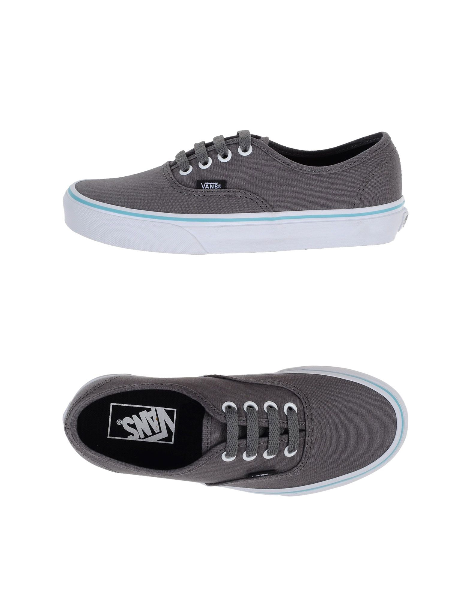 vans low tops trainers in gray for men grey lyst. Black Bedroom Furniture Sets. Home Design Ideas