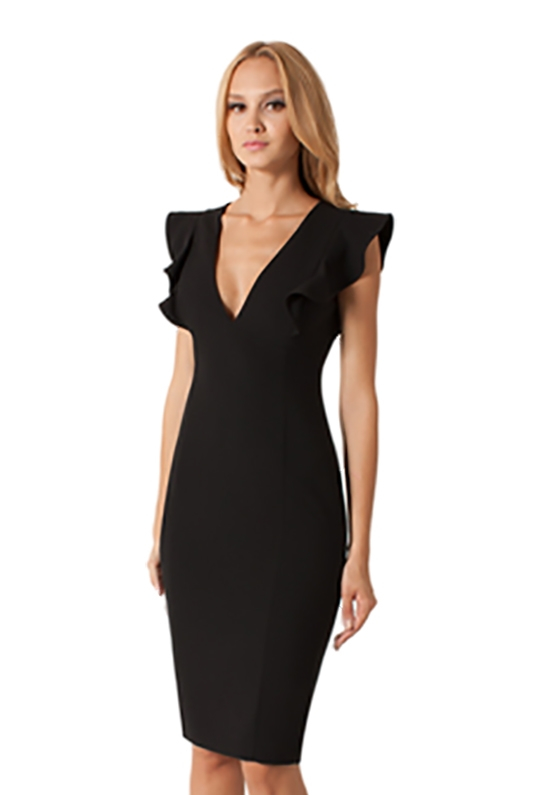 Black halo Deklyn Sheath Dress In Black in Black | Lyst