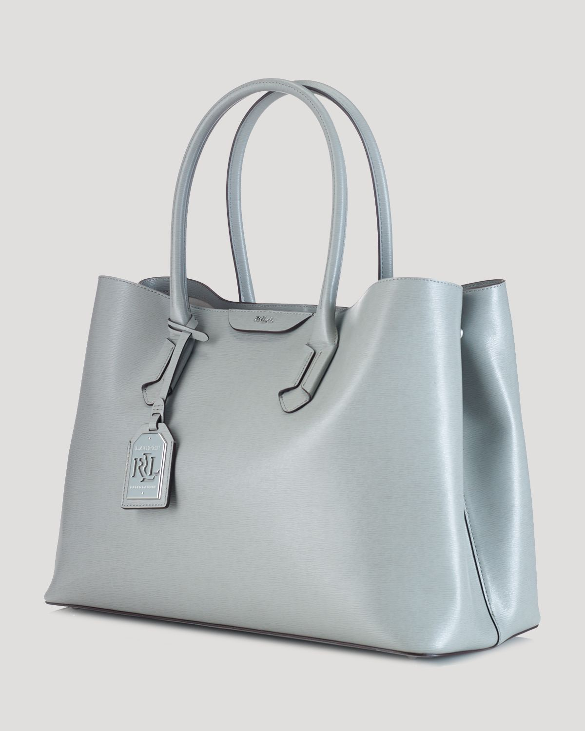 bb8259829258 Lyst - Ralph Lauren Lauren Tote - Tate City in Gray