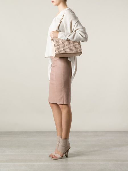 Tory Burch Pink Shoulder Bag 19