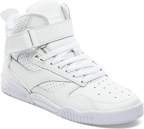 Switzerland Mens Supra Bleeker - Shoes Supra Bleeker White
