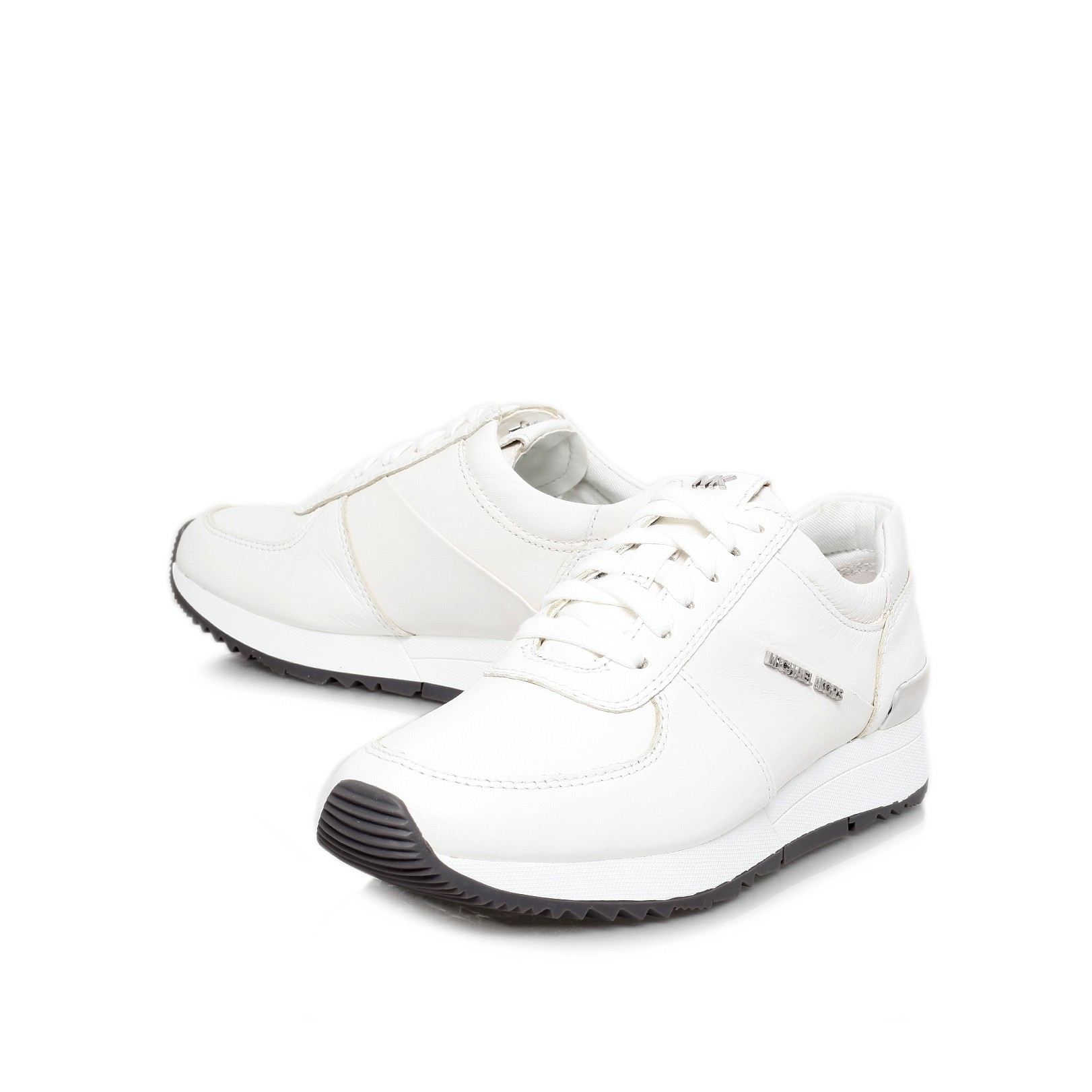 f63a2d6f381c MICHAEL Michael Kors Allie Trainer in White - Lyst