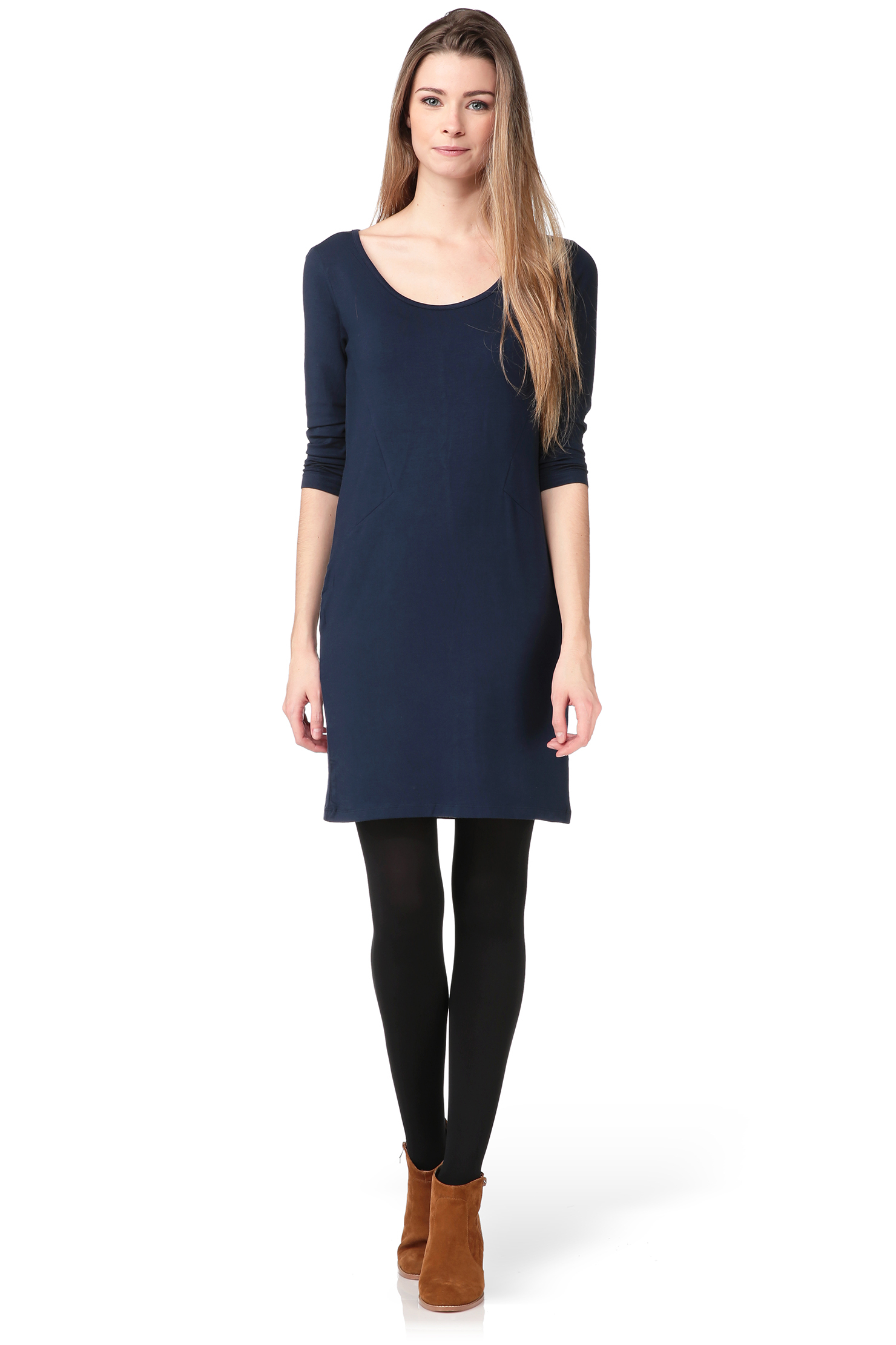 vero moda bodycon dress in blue lyst. Black Bedroom Furniture Sets. Home Design Ideas