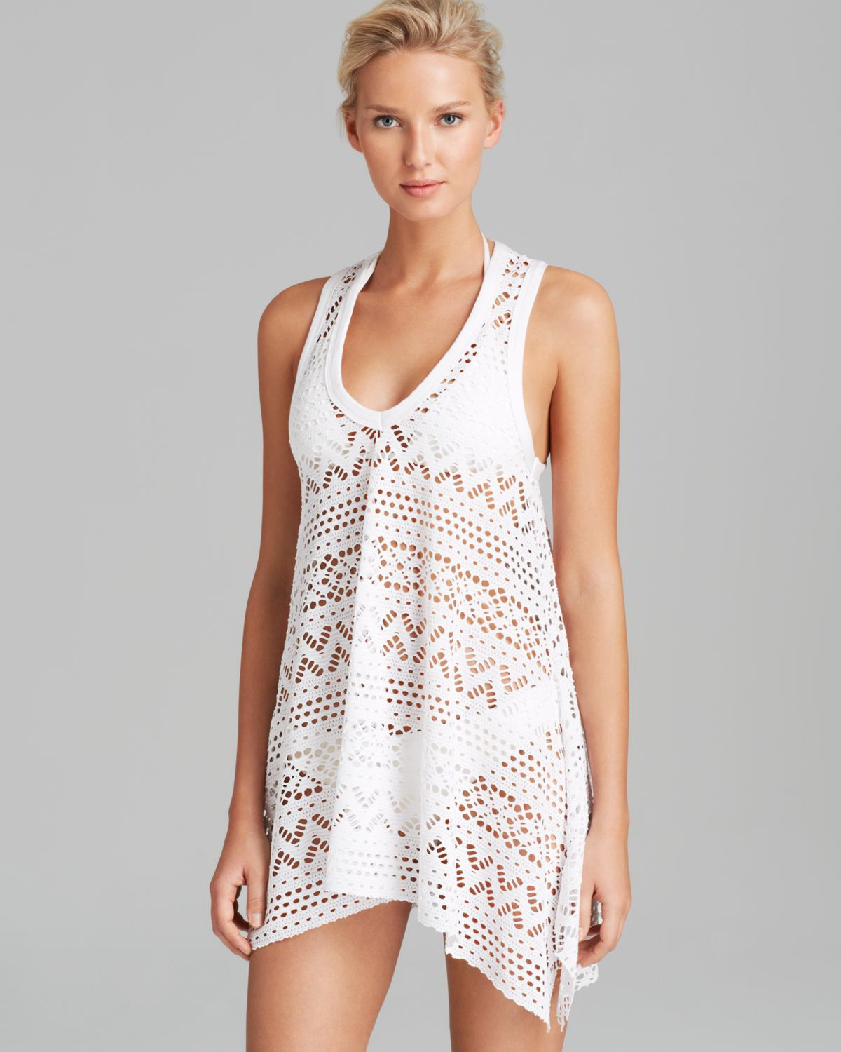 Swimsuit cover up dress long