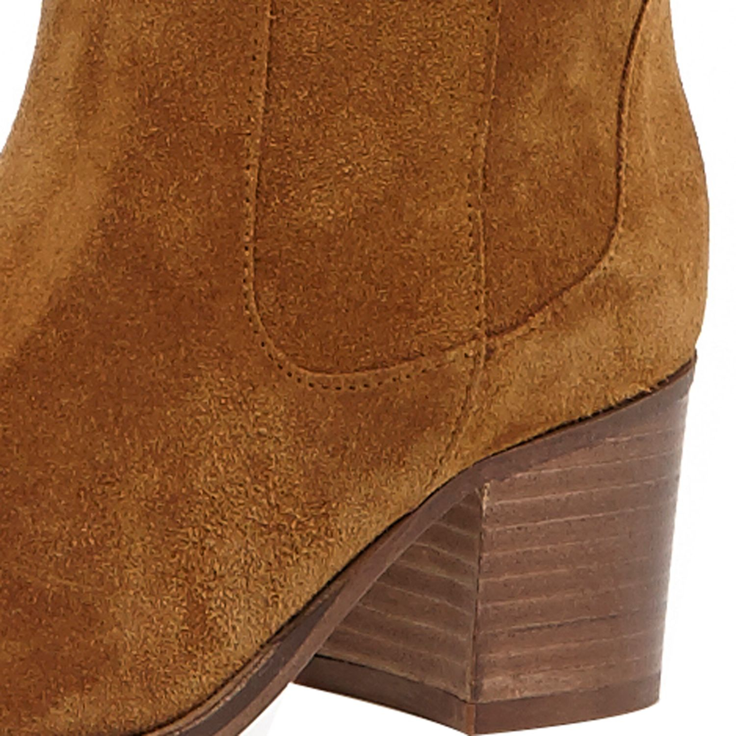 8fafd7570e7 River Island - Tan Brown Suede Knee High Boots - Lyst