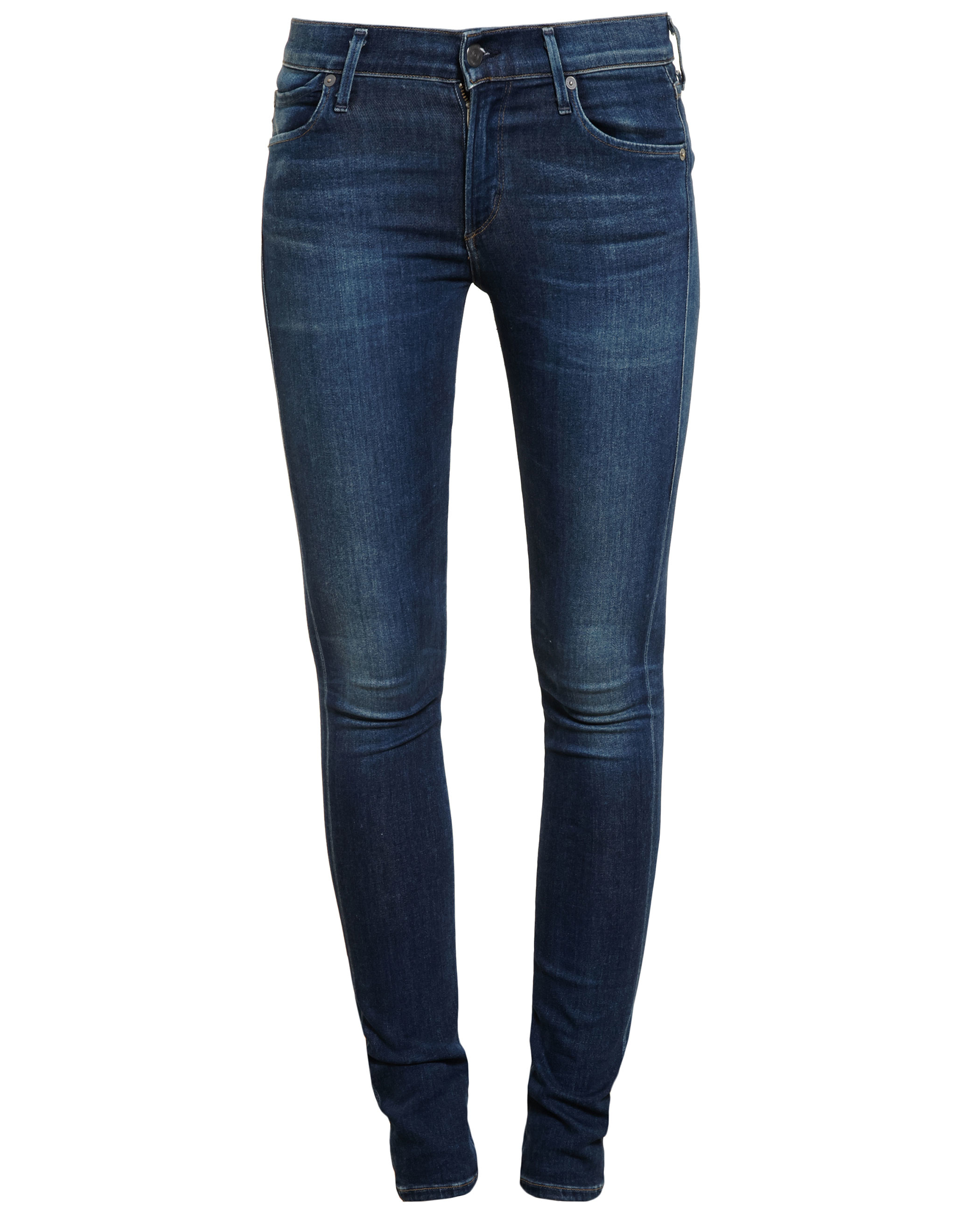 citizens of humanity avedon low rise jeans in blue lyst. Black Bedroom Furniture Sets. Home Design Ideas