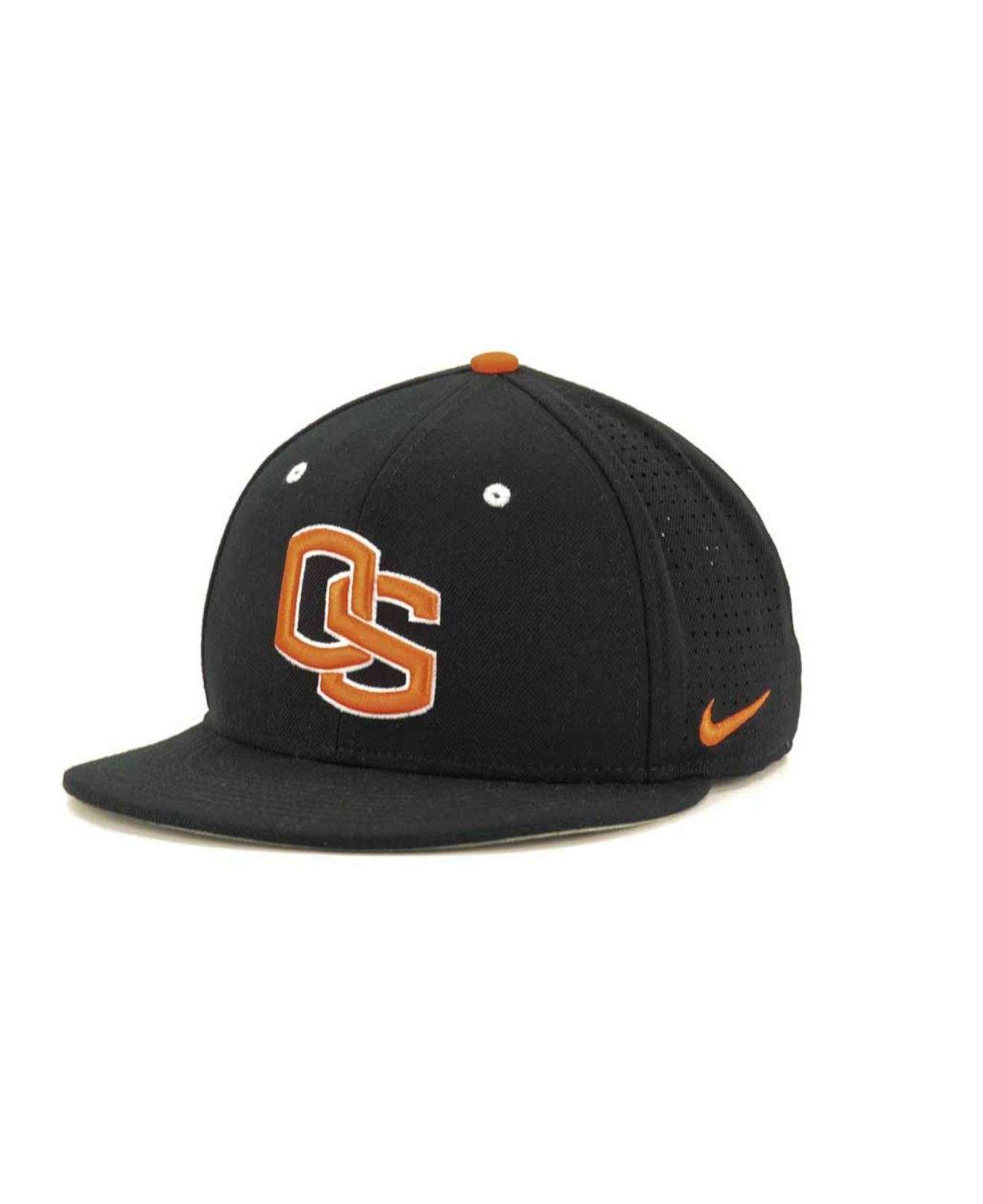 102e2593ac7 Lyst - Nike Oregon State Beavers Ncaa Authentic Vapor Fitted Cap in ...