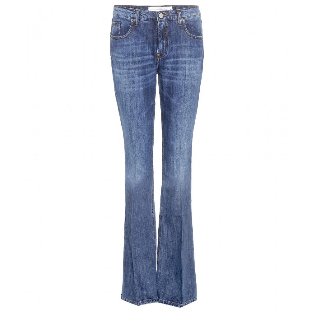 victoria beckham flared jeans in blue lyst. Black Bedroom Furniture Sets. Home Design Ideas