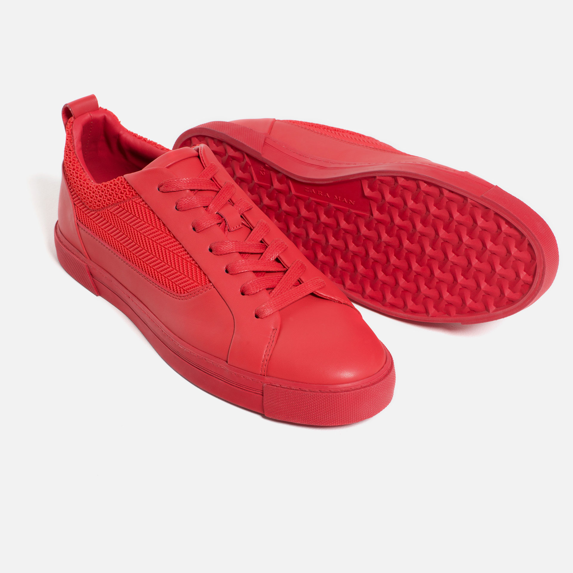 Zara Red Sole Shoes
