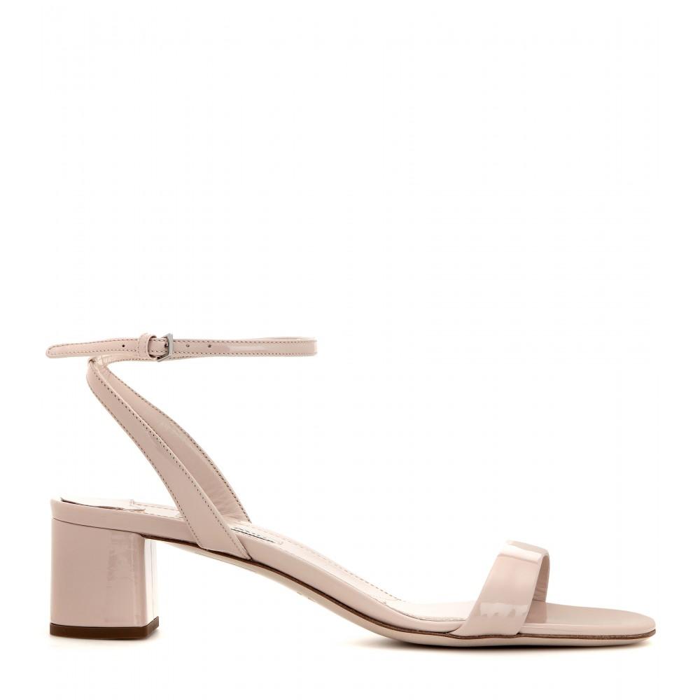 Patent leather sandals Miu Miu oadUiz3h