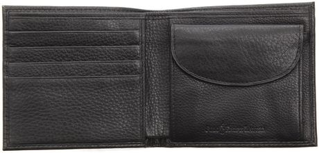 Black Leather Wallet For Men Wallet in Black For Men