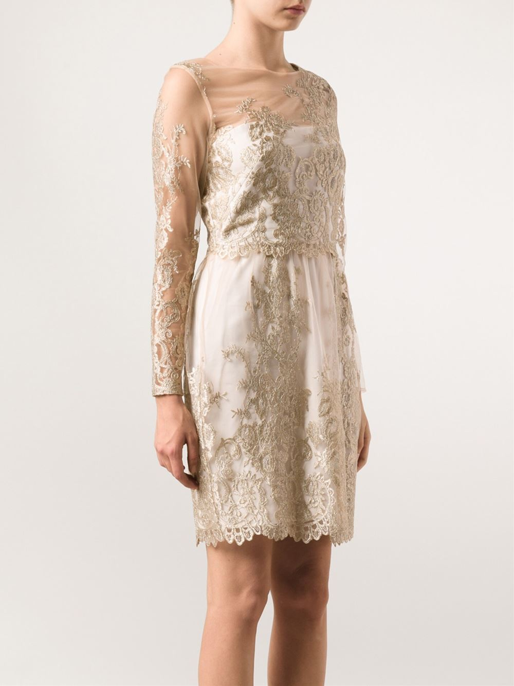 ac4637f6 Gallery. Previously sold at: Farfetch · Women's White Cocktail Dresses