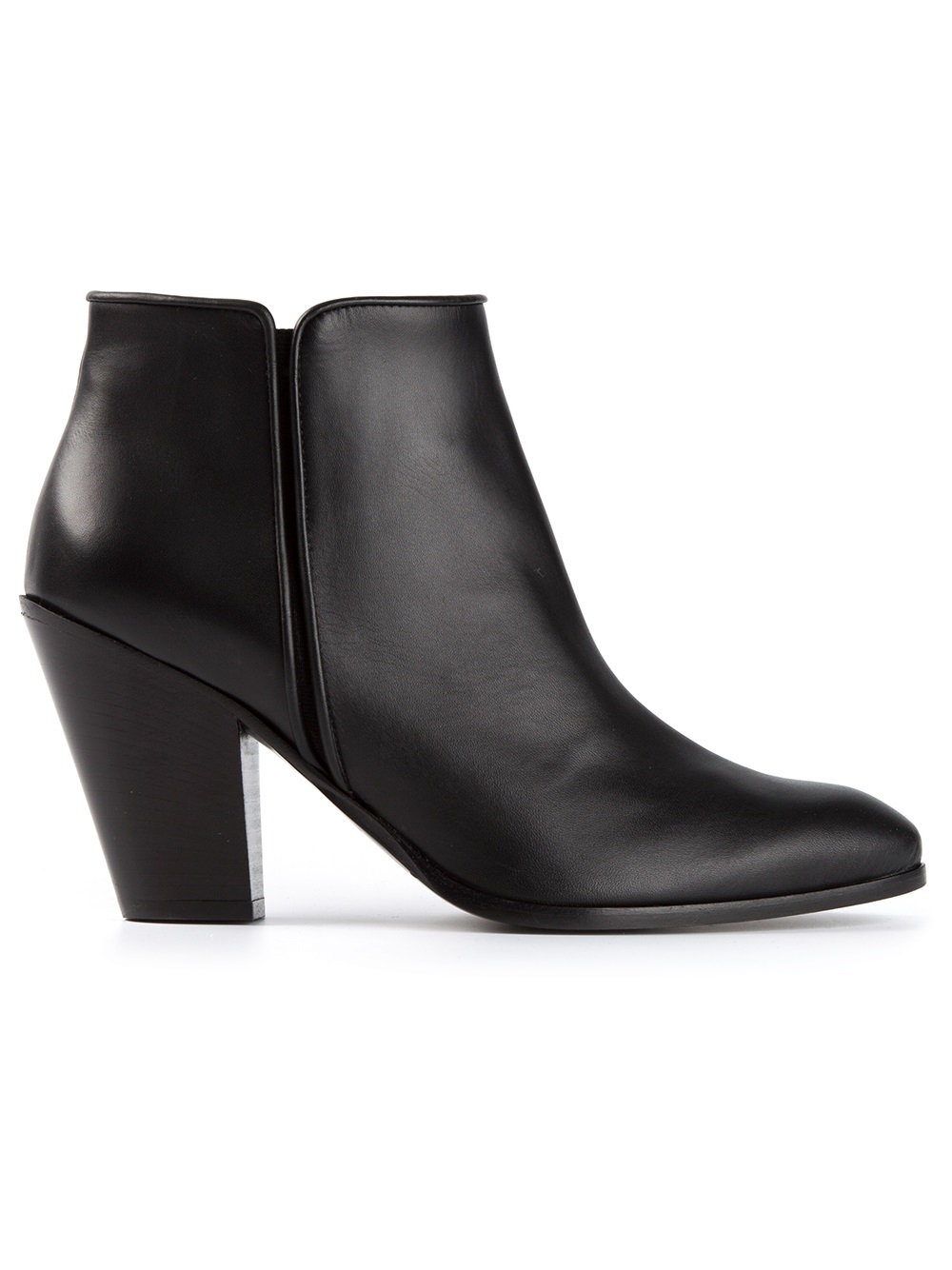 giuseppe zanotti classic ankle boots in black lyst