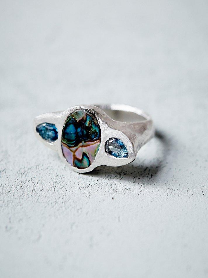 Paua Shell Ring Australia