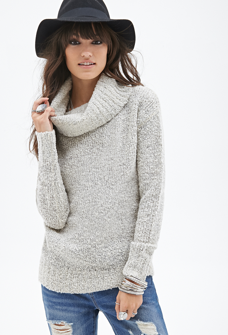 c980725847 Forever 21 Oversized Cowl Neck Sweater You ve Been Added To The ...