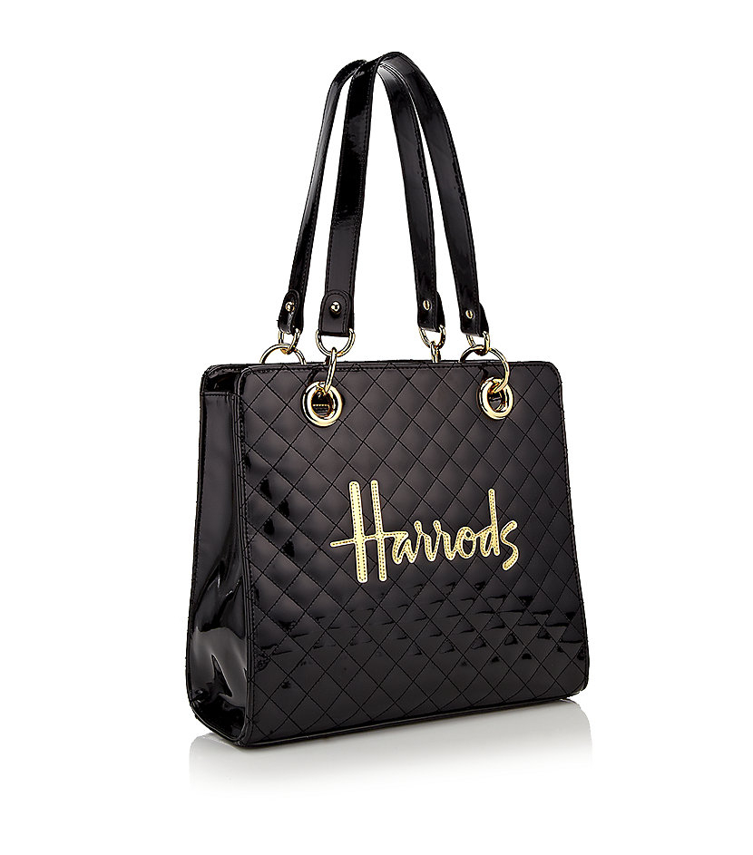 Harrods Small Christie Bag In Black Lyst