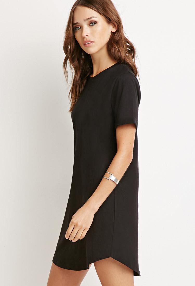 Forever 21 black dress shirt