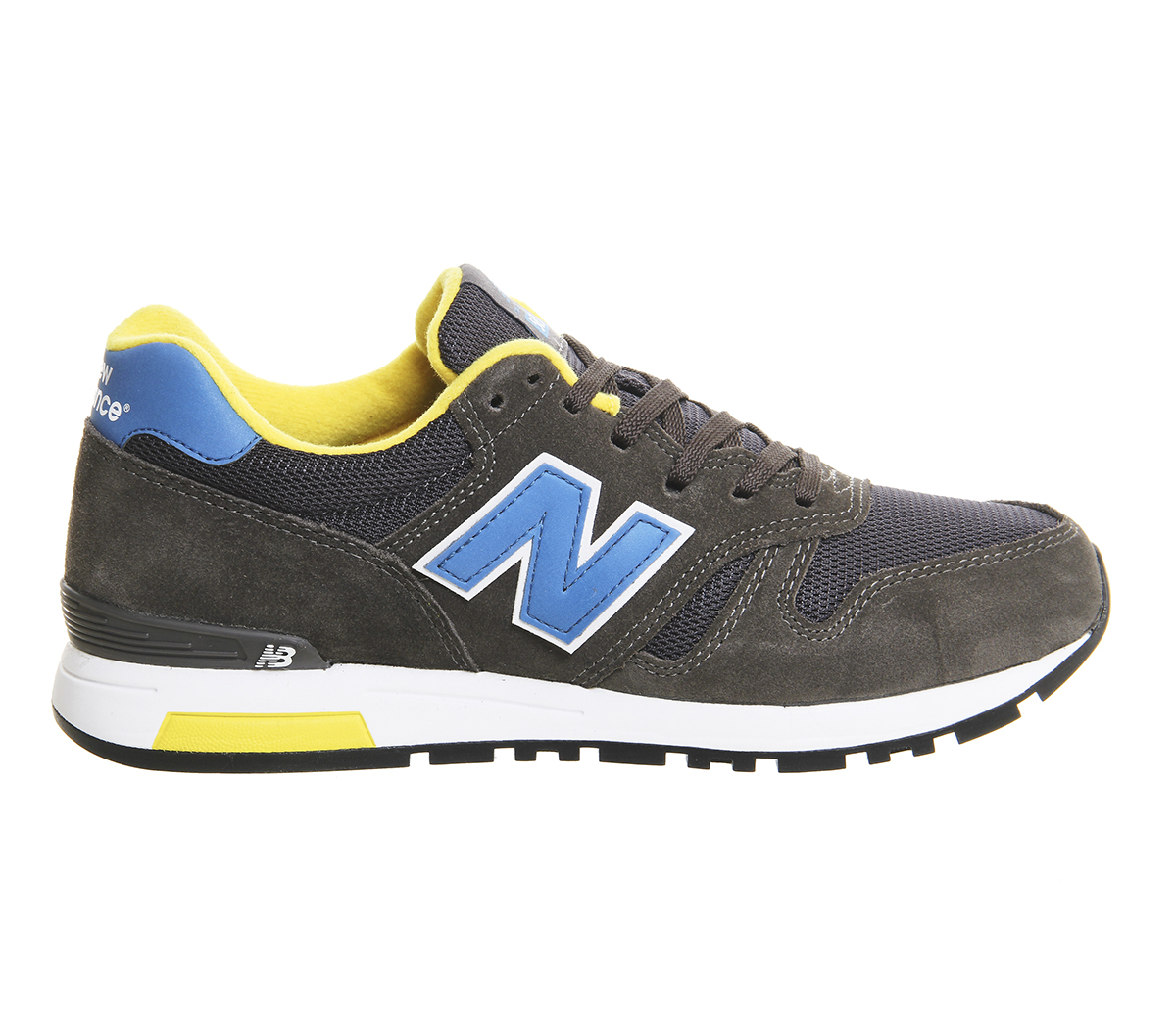 new balance 565 trainers in gray for men lyst. Black Bedroom Furniture Sets. Home Design Ideas