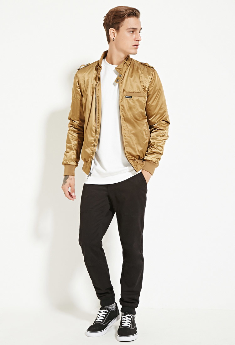 Tan Bomber Jacket Mens - Coat Nj