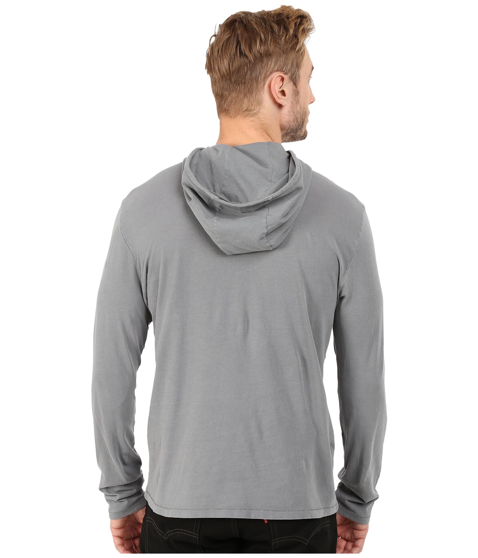 549510b55fd2 John Varvatos Rock Graphic Pullover Hoodie K2625r4b in Gray for Men ...