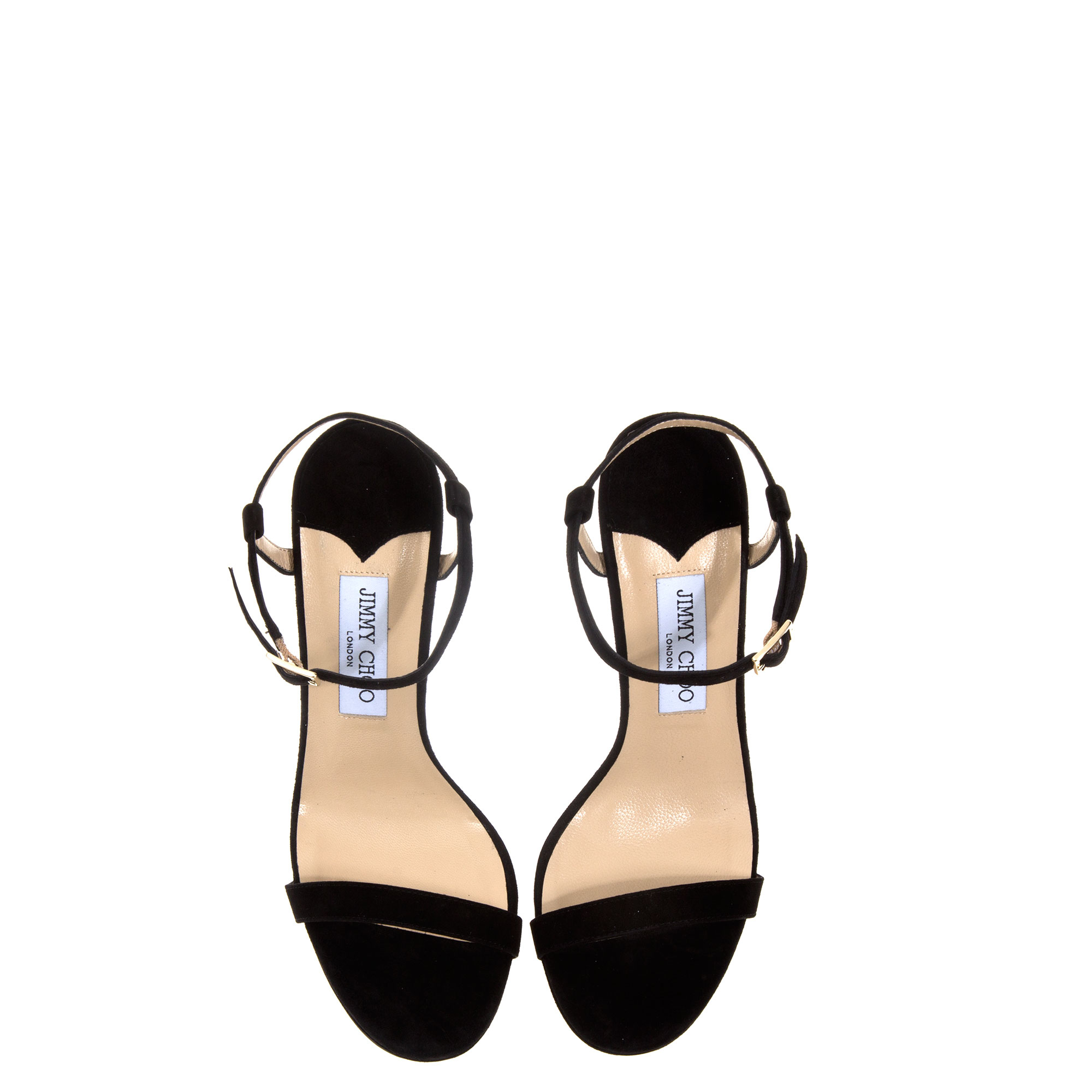 jimmy choo claudette shoes in black lyst