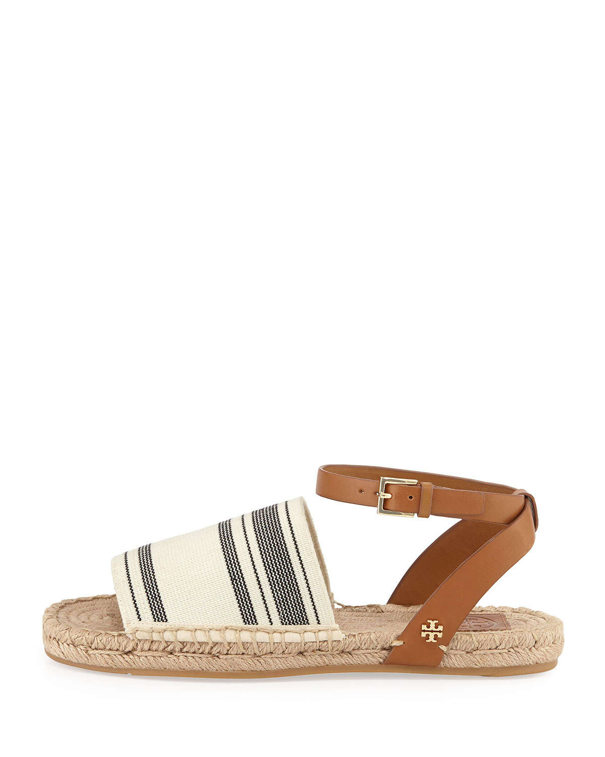Tory Burch Striped Espadrille Sandals free shipping popular reliable clearance footlocker finishline discount comfortable Z00hX