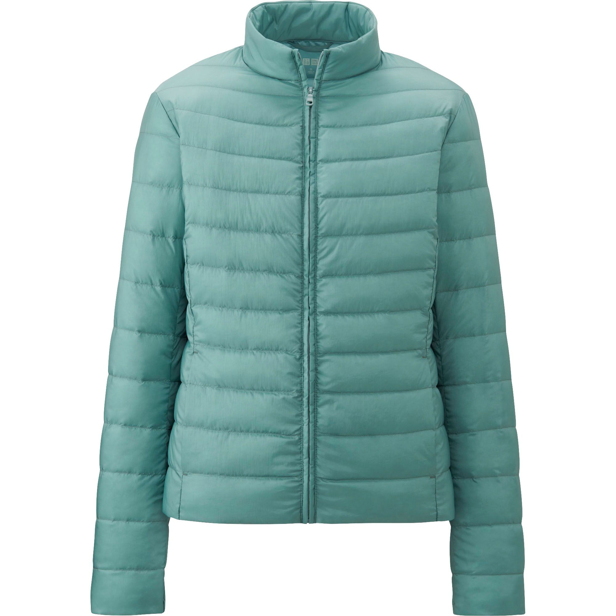 uniqlo women ultra light down compact jacket in green lyst. Black Bedroom Furniture Sets. Home Design Ideas