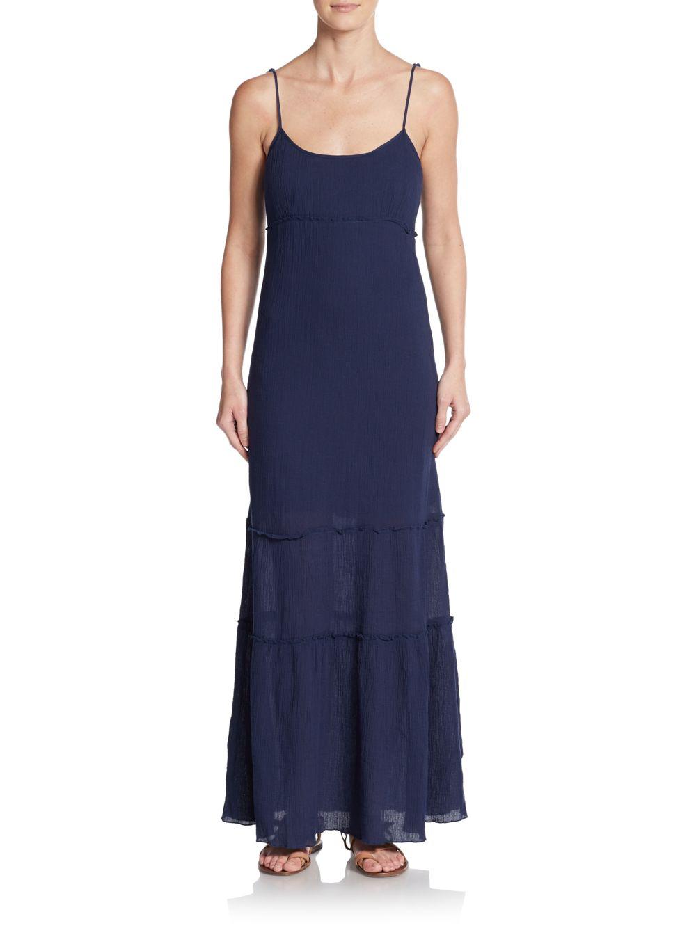 C and c california maxi dress