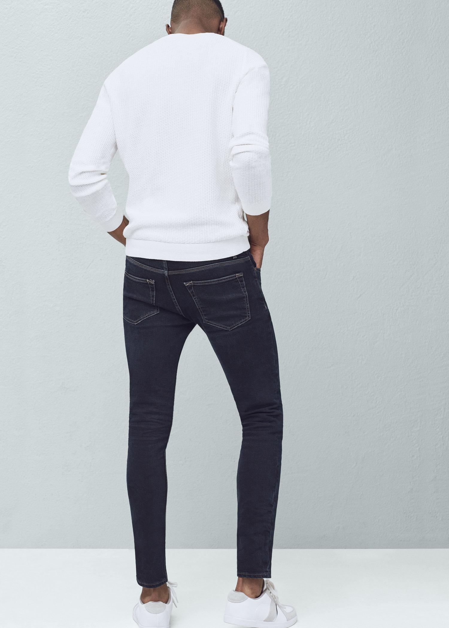 e9c73e705d4 Lyst - Mango Skinny Dark Wash Jude Jeans in Blue for Men