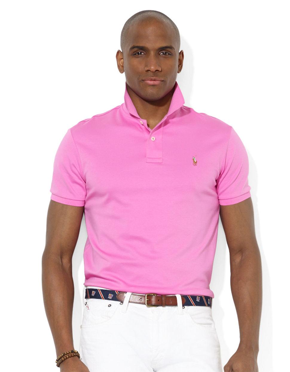 Ralph Lauren Ladies Pink Polo Shirt