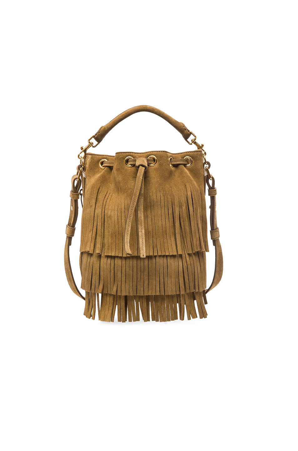 aa406dce8d Gallery. Previously sold at  FORWARD · Women s Fringed Bags Women s Saint  Laurent Emmanuelle ...
