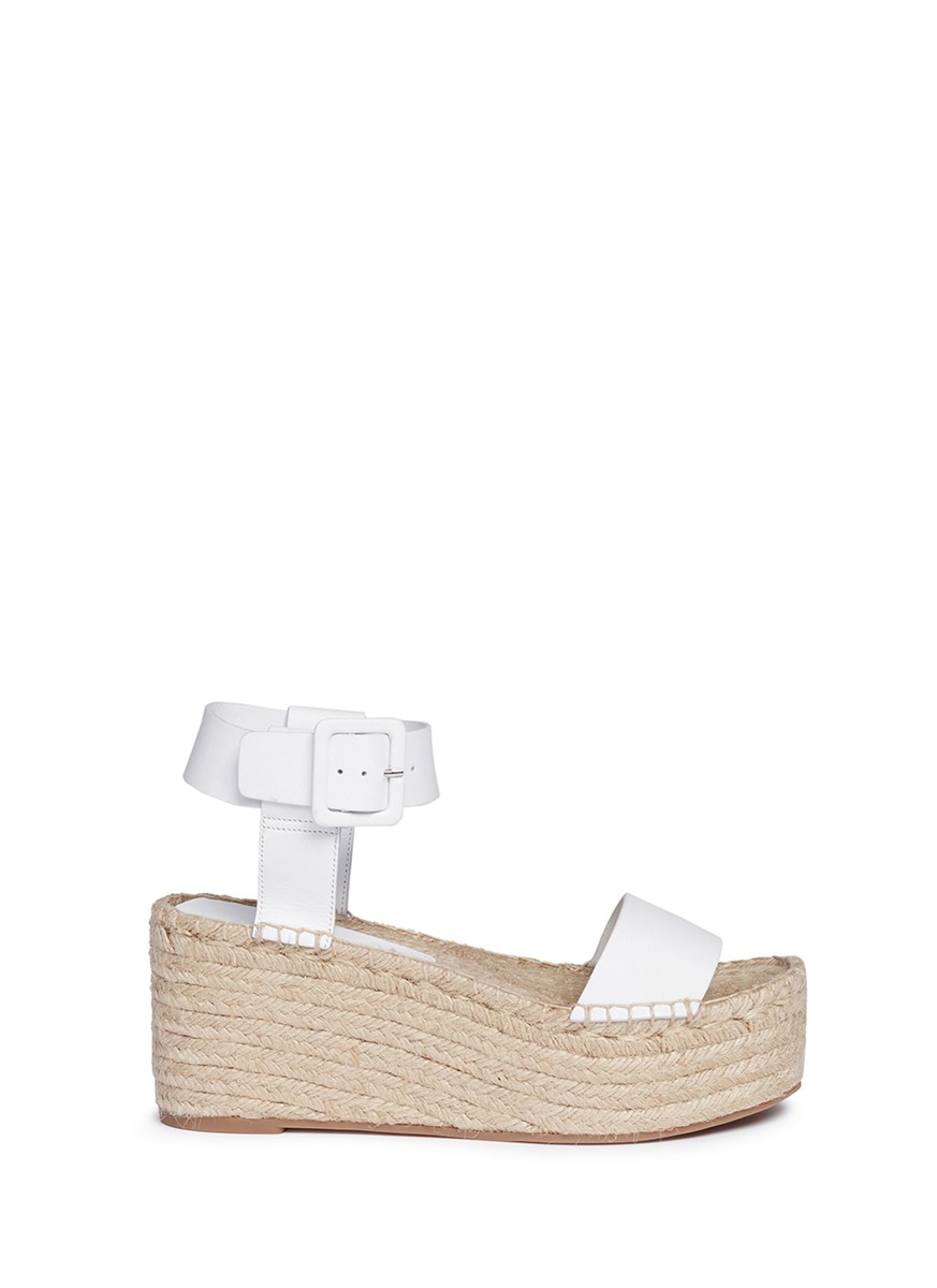793fcfd1b Gallery. Previously sold at: Lane Crawford · Women's White Platform Wedges