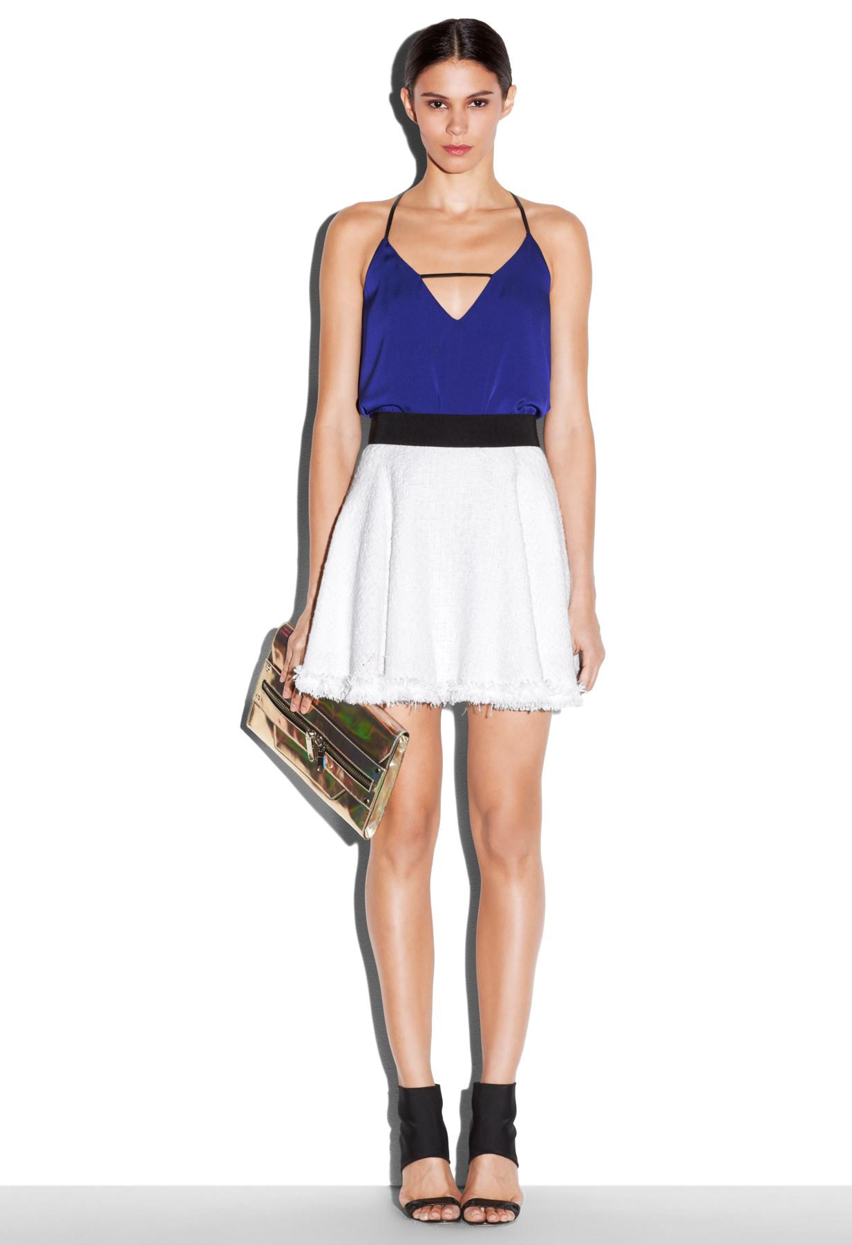 Flare Mini Skirt 86