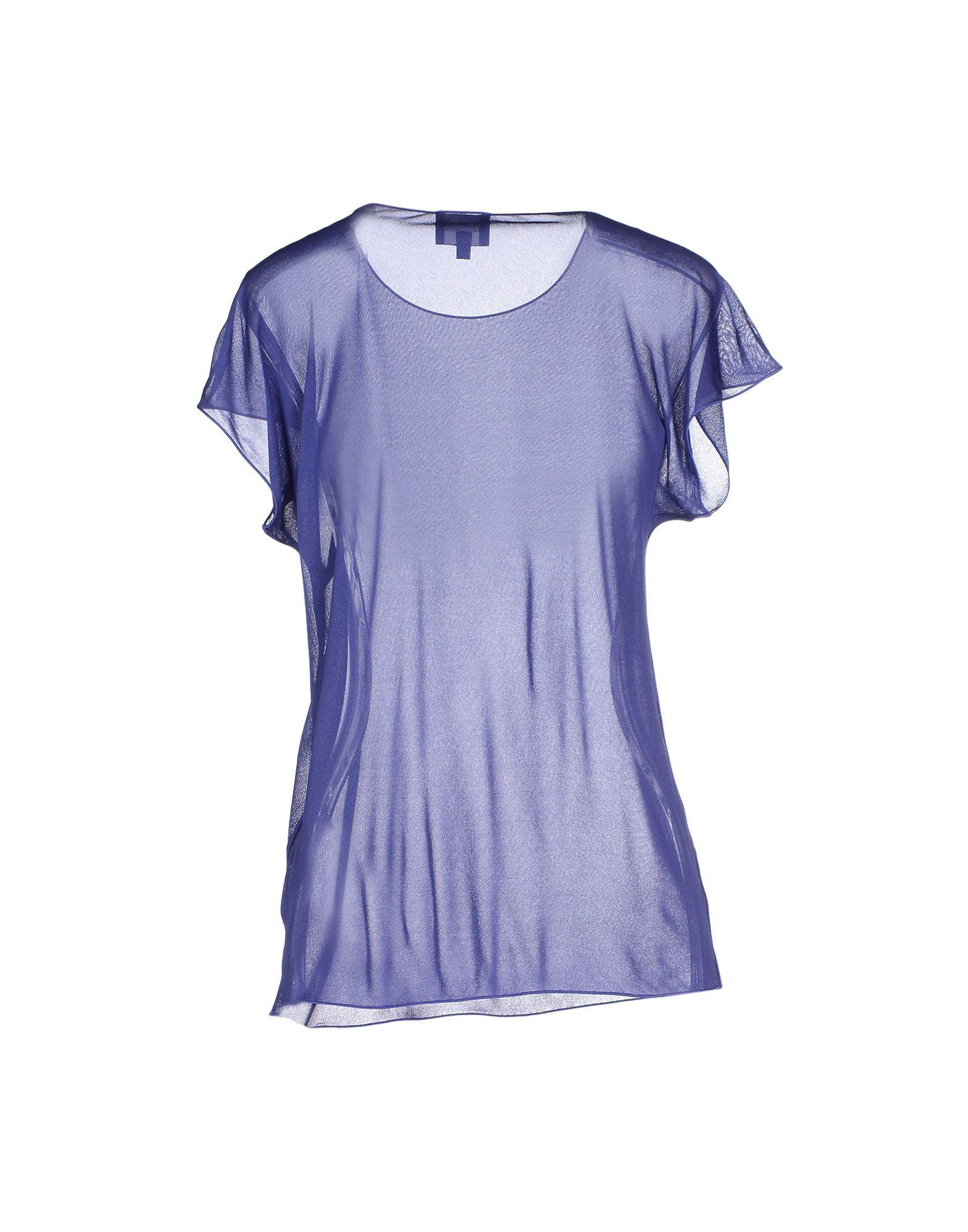Lyst - Giorgio armani T-shirt in Purple