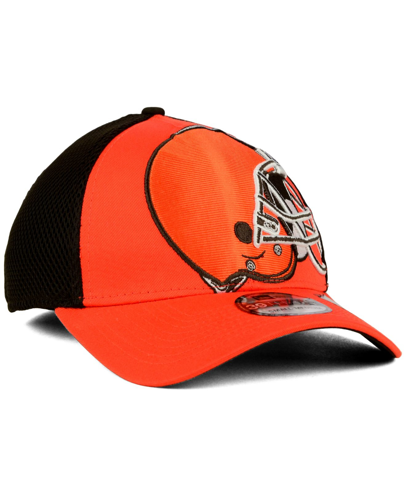 f152c5e41ee ... coupon code for lyst ktz cleveland browns logo blimp 39thirty cap in  orange for men ceffa