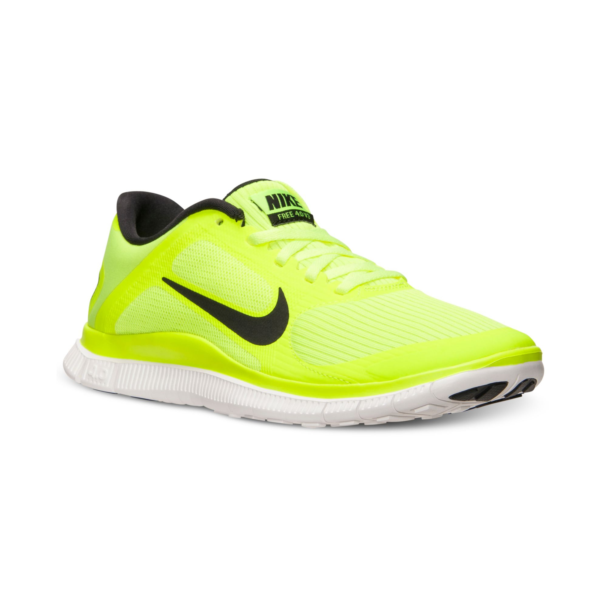 how to clean yellow running shoes