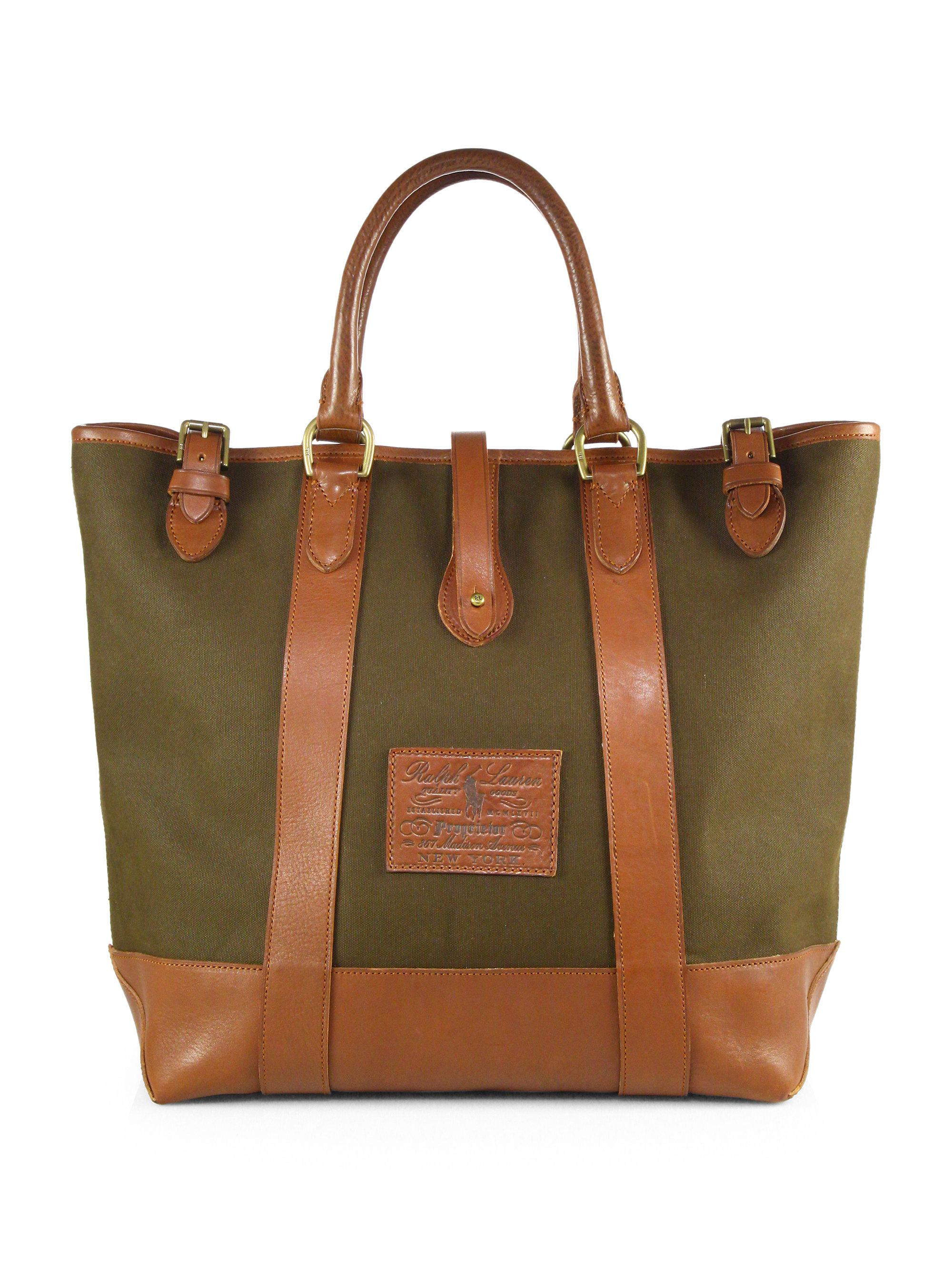 628d30a5f3 Ralph Lauren Polo White Canvas Big Pony Handbags - Jaimonvoyage.com